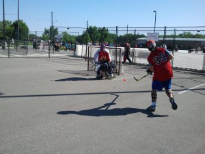 Ball Hockey Goalie