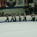 hockey team parade