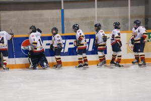 hockey team cheer
