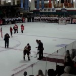 Leo Boivin tournament opening ceremonies