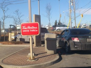 Tim Horton's Drive-Thru