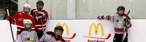 McDonalds Canada supports youth hockey