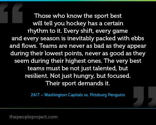 Ebbs and Flows of Hockey quote