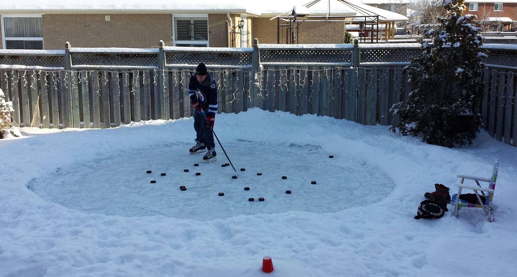 rink of dreams if i build it who will come i u0027m a hockey dad