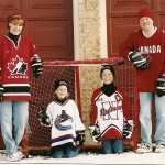 Canadian Hockey Family