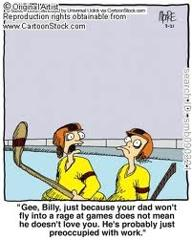 Hockey Parent Rage Cartoon