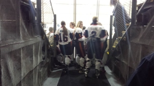 Waiting to Take To the Ice