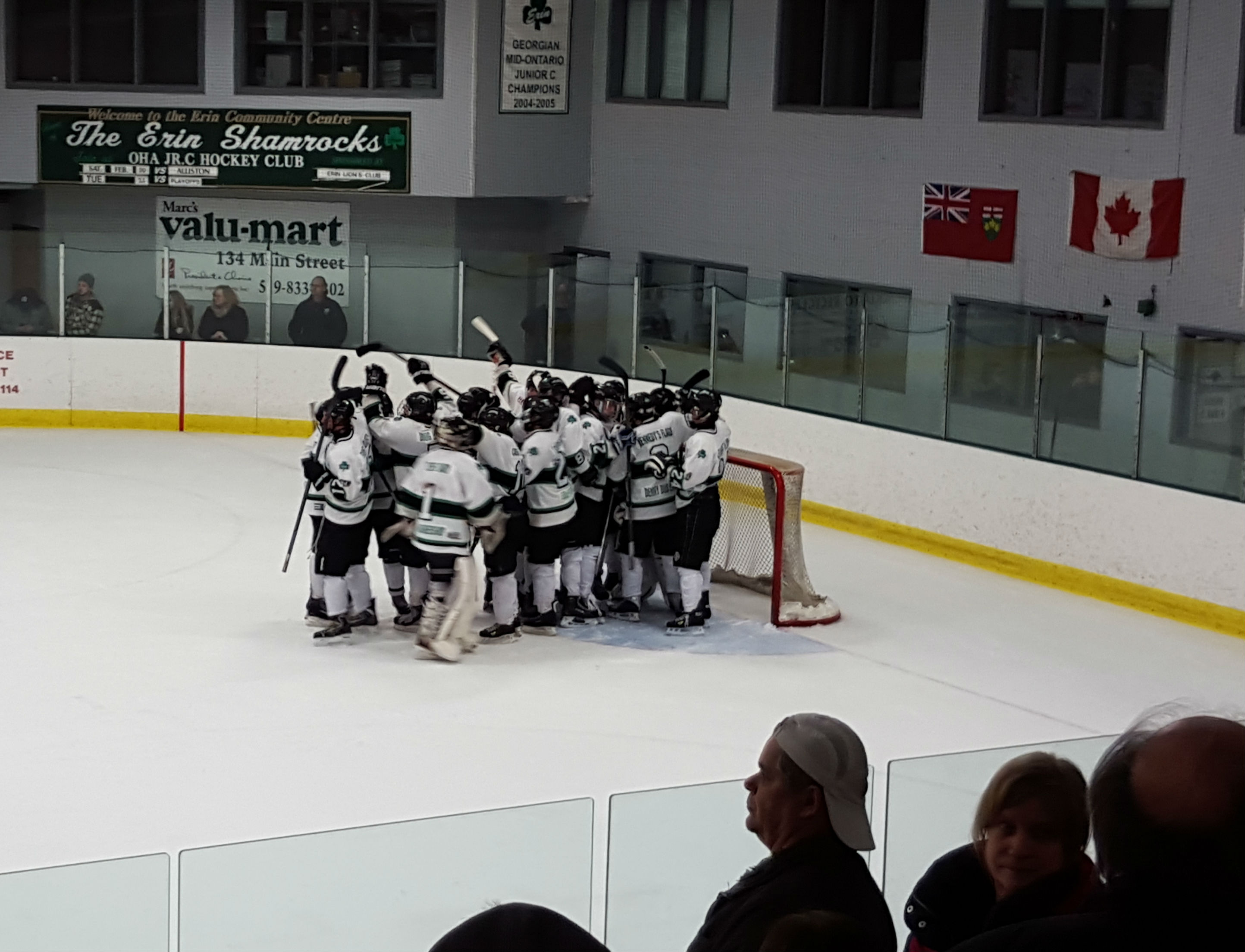 Shamrocks Celebrate Game 2 Victory