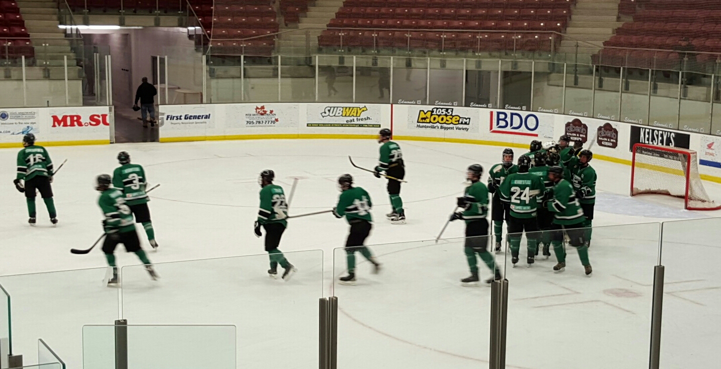 Shamrocks Win Round One, Game One
