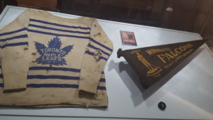 Frank Finnigan Jersey and the Winnipeg Falcons pennant